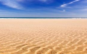 Обои берег, Море, песок