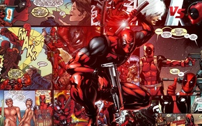 Картинка Deadpool, Marvel, Дэдпул, комикс, comics, Wade Wilson, Марвел, Уэйд Уилсон