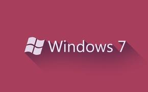 Картинка Windows, Фон, Логотип, Пуск, 7 Hi-Tech