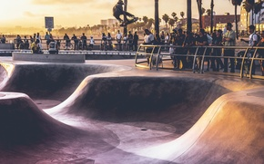 Картинка sport, USA, United States, Los Angeles, California, people, Venice Beach, America, attraction, United States of …