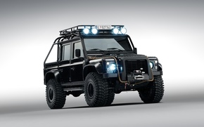 Картинка Land Rover, ленд ровер, дефендер, James Bond, 2015, Defender 110, 007 Spectre, джеймс бод