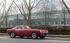 Картинка Ferrari, France, 1956, 250, Tour