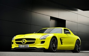 Обои SLS E-celle, 1920x1200 cars, Mercedes benz