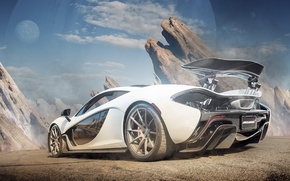 Картинка supercar, автообои, макларен, McLaren P1
