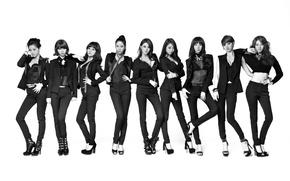 Обои музыка, девушки, азиатки, Южная Корея, Kpop, Nine Muses