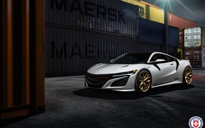 Картинка Acura, NSX, Wheels, HRE