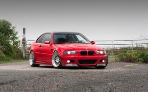 Картинка BMW, E46, RED