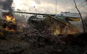 Картинка WoT, World of Tanks, Мир Танков, Wargaming Net, Amx 13 57 Gf