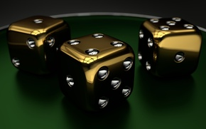 Картинка render, dice, closeup, cube