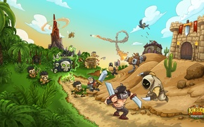 Картинка башни, game, Kingdom Rush Frontiers, Kingdom Rush