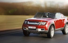 Картинка дорога, асфальт, скорость, Land Rover, Sport