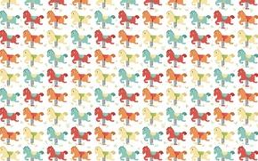 Картинка фон, качели, игра, текстура, арт, детская, лошадка