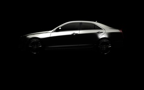 Картинка Cadillac, 2012, кадилак, атс, ats