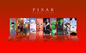 Обои pixar, коллекция, мультфильмы, короткометражки, пиксар