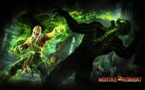 Картинка сила, скелет, бойцы, Mortal Kombat 9, Смертельная битва