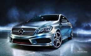 Картинка Mercedes-Benz, 2012, мерседес, A-class, w176