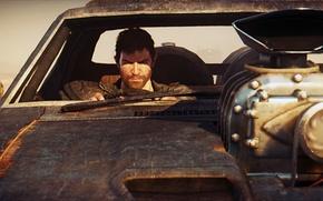 Картинка погоня, автомобиль, Mad Max, Fury Road, Безумный Макс