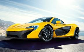 Картинка McLaren, концепт, yellow, макларен, McLaren P1