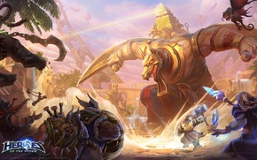 Картинка blizzard, entertainment, heroes of the storm, sky temple