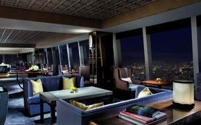 Обои дизайн, город, стиль, интерьер, клуб, мегаполис, club, lounge