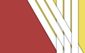 Картинка белый, линии, желтый, красный, текстура, material
