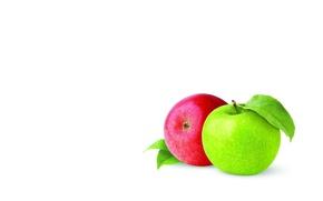 Картинка яблоко, минимализм, фрукт