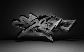 Обои Error, Dark, Graffiti