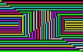 Картинка линии, полоса, цвет, текстура, овал