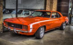 Картинка Chevrolet, Camaro, мускул кар, классика, 396 SS