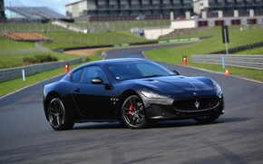 Обои GranTurismo, 2015, MC Sportline, суперкар, Maserati, мазерати