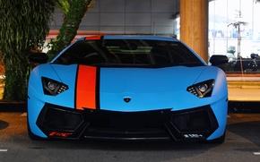 Картинка Lamborghini, Blue, LP700-4, Aventador, Supercars, Exotic
