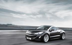 Обои RCZ, концепт, Peugeot