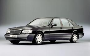 Картинка Машины, W140, Mersedes-Benz