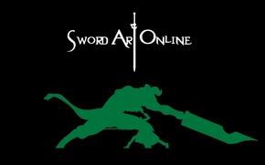 Картинка Sword Art Online, Kirito, SAO, САО, Кирито, Мастера Меча Онлайн