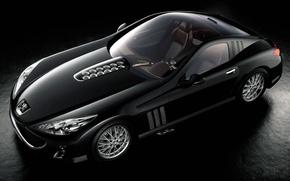 Обои авто, спорт, Черный