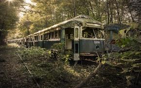 Картинка вагоны, лом, End Of The Line