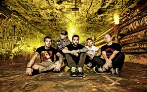 Картинка guitar, rock, gibson, strings, A Day to Remember, music, electric