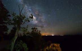 Обои природа, пространство, космос, звезды, млечный путь