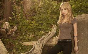 Обои сериал, тайный круг, кэсси, девушка, блондинка, актриса, фильм