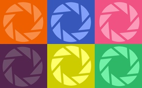 Картинка игра, портал, portal, aperture