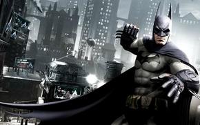 Обои темный рыцарь, batman, игры, комикс, бэтмен, games, comics, bruce wayne, batman: arkham city, dark knight