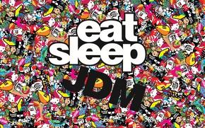 Картинка japan, Market, JDM, Japanese, eat sleep, Domestic, Stickers