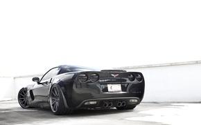 Картинка corvette, chevrolet, cars, z06, auto wallpapers, авто обои