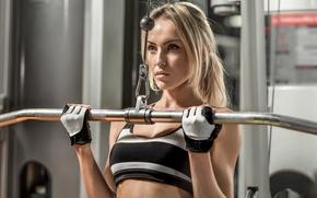 Картинка model, workout, fitness, gym, sportswear