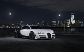Картинка Бугатти, Bugatti, Вейрон, Veyron, Суперкар, Super, Sport, Supercar, Blanc, Pur, Бланк, Пур