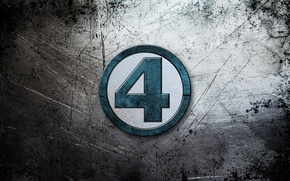 Картинка metal, four, the fantastic four