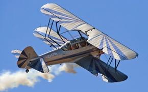 Картинка самолёт, biplane, PR13D