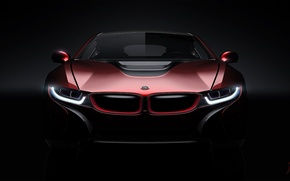Картинка Concept, BMW, Light, Red, Car, Front