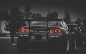 Картинка тюнинг, GTR, Nissan, задок