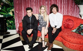 Картинка фотограф, London Grammar, Hannah Reid, Dominic Major, Dan Rothman, Kava Gorna, American Vogue